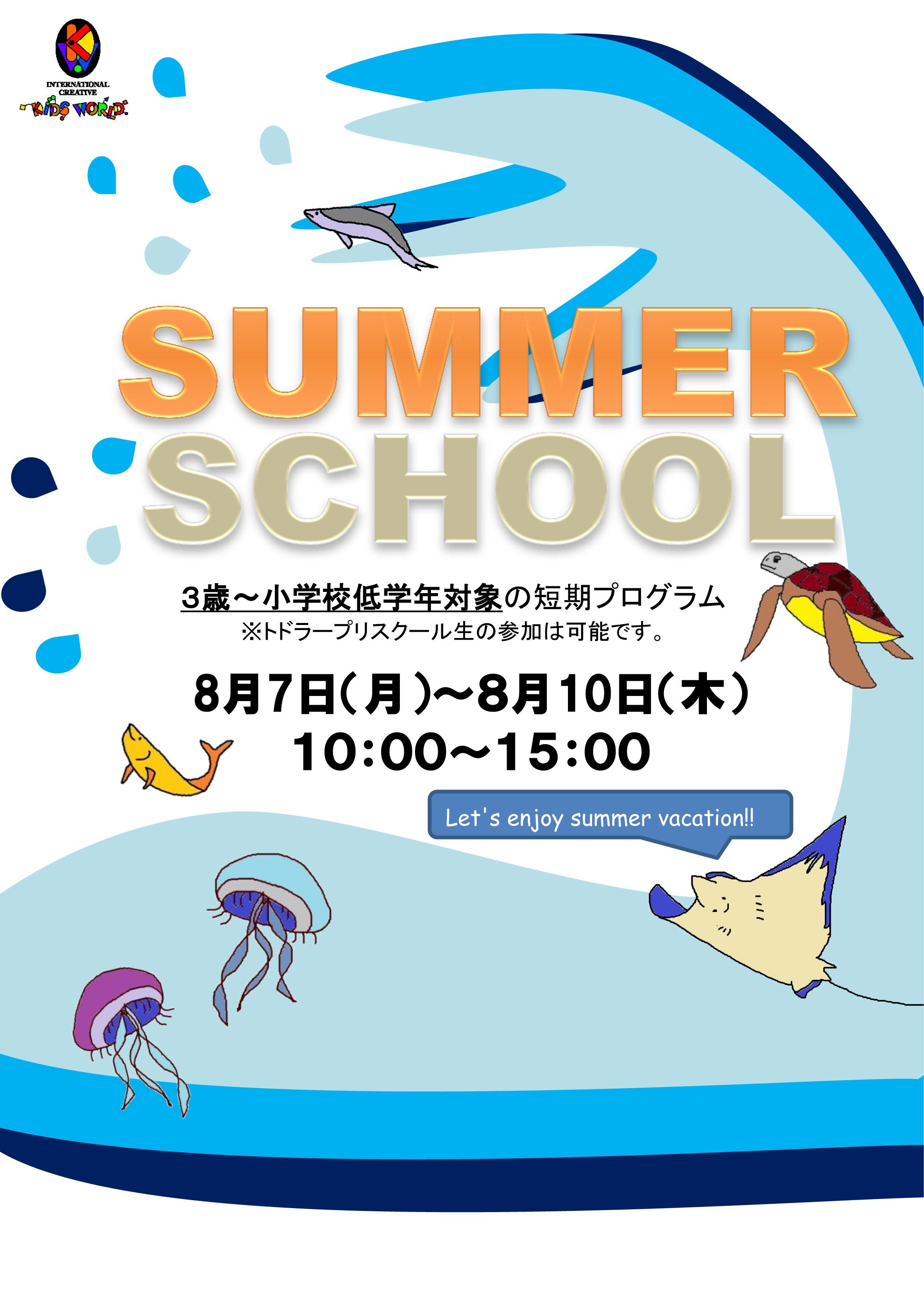 南茨木-2017サマースクールちらし