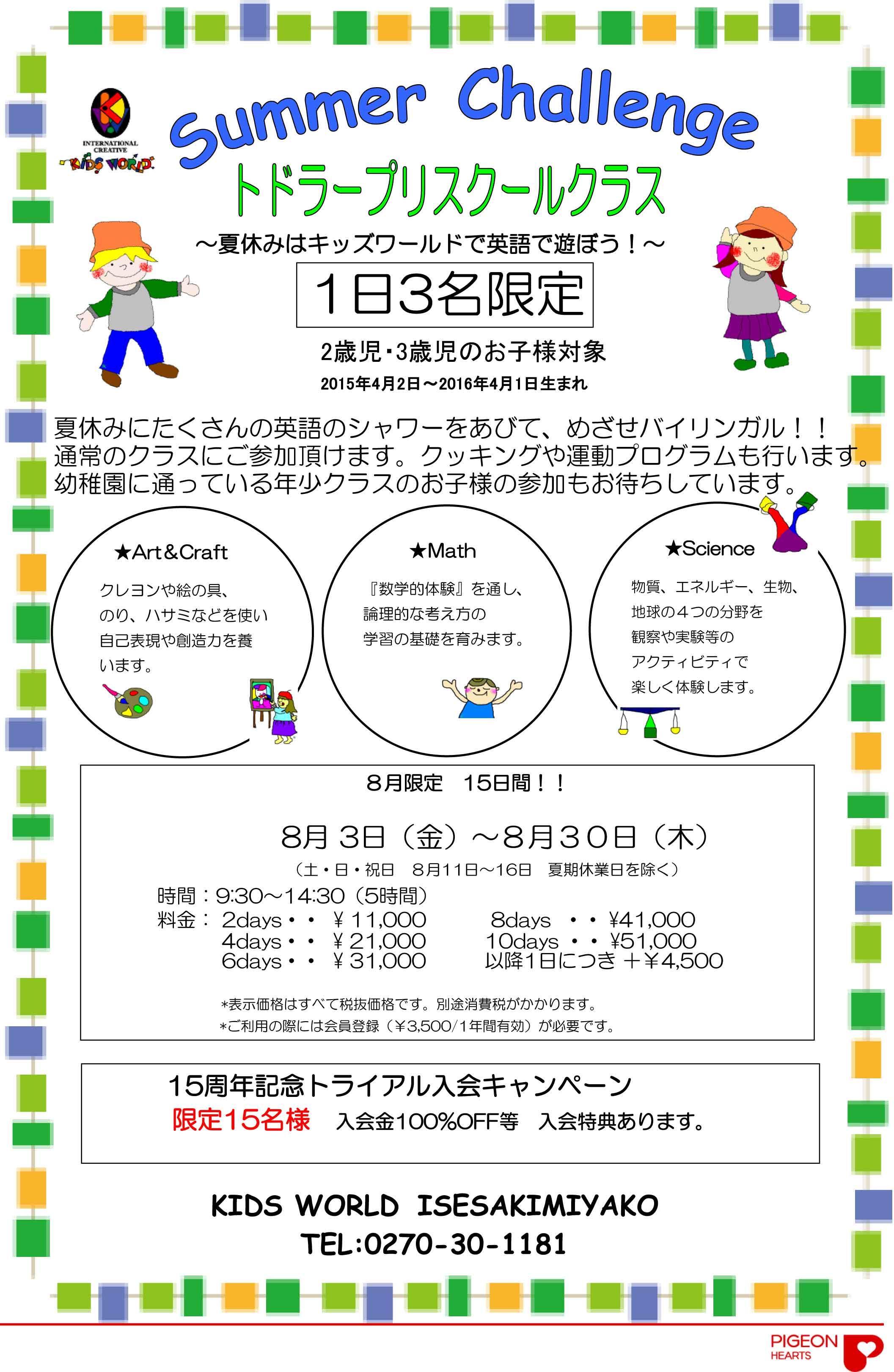 【伊勢崎宮子】TP Summer-Challenge2018